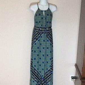 Key Hole Maxi Dress